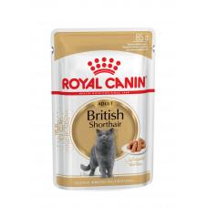 BRITISH SHORTHAIR ADULT WET (Британская короткошерстная) для взрослых